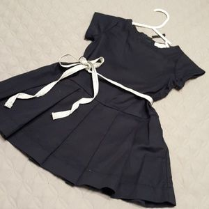 Crewcuts by J.Crew Navy dress size 2